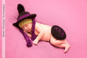 Cutest Crochet Witch Baby Outfit
