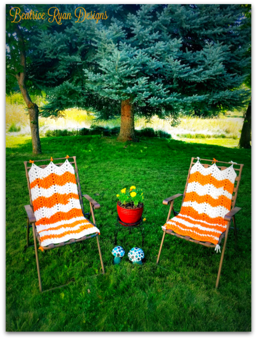 Lazy Daze Lawn Chair Cover