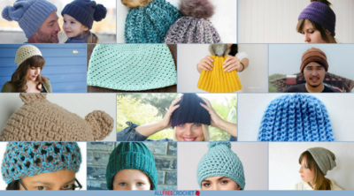 50+ Beginner Crochet Hat Patterns
