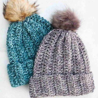 e7c8984c 50+ Free Crochet Hat Patterns for Beginners | AllFreeCrochet.com