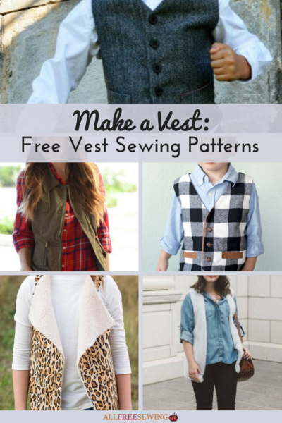 Make a Vest 13 Free Vest Sewing Patterns