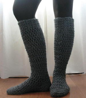 Chunky Knee High Socks