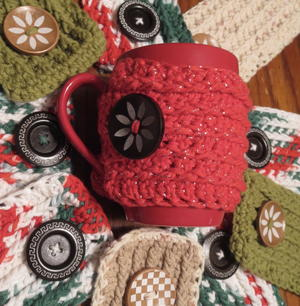 Easy Crochet Mug Cozy