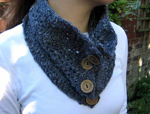 Big Button Cowl