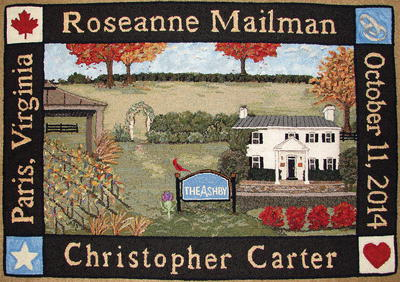 Mailman Carter Wedding Rug, Celebration XXV