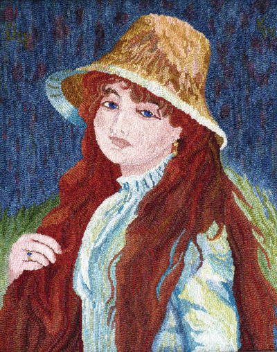 Girl in a Straw Hat, Celebration XXI