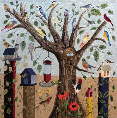 Birds and Birdhouses, Celebration XXIV