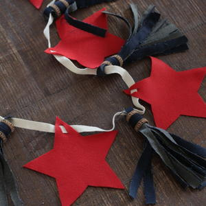 Fourth of July DIY Star Banner