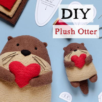DIY Plush Otter