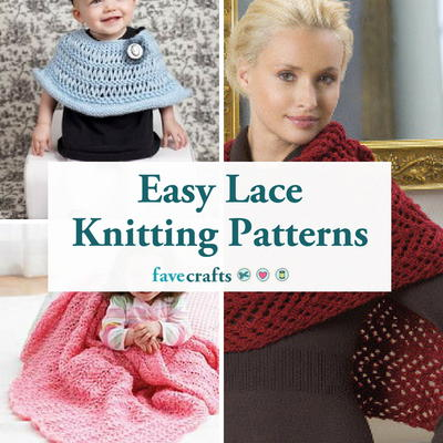 21 Easy Lace Knitting Patterns