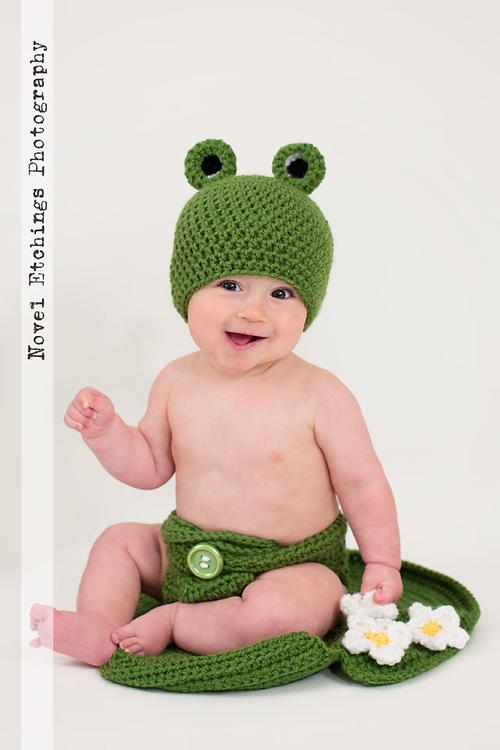 FROG on LILY PAD *EASY Crochet Patterns