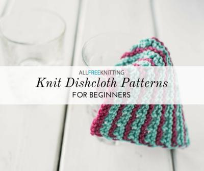 50+ Easy Knitting Patterns for Beginners | AllFreeKnitting com