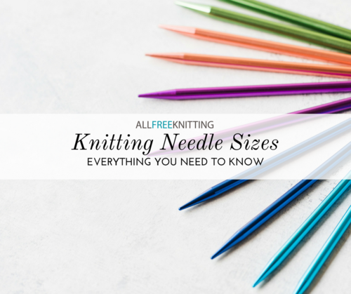 photograph relating to Knitting Needle Size Chart Printable identified as Knitting Needle Dimensions 101: (Conversion Chart