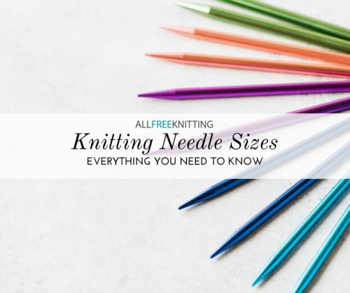 image regarding Knitting Needle Size Chart Printable identified as Knitting Needle Measurements 101: (Conversion Chart