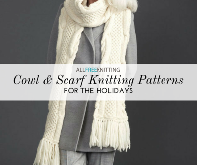 dd83864fcf166 75+ Cowl and Scarf Knitting Patterns for the Holidays ...