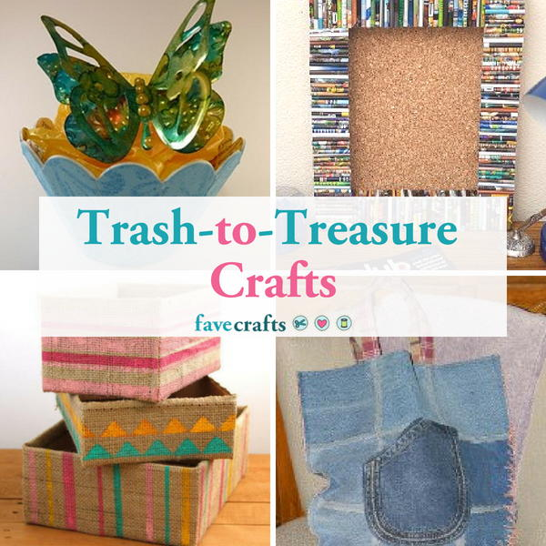 25 Great Trash To Treasure Crafts Favecrafts Com