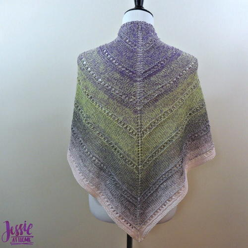 Spring Country Knit Wrap Pattern