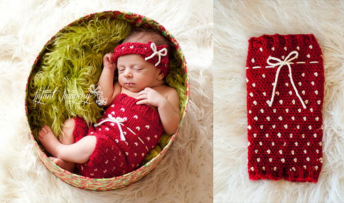 Strawberry Shorts Set