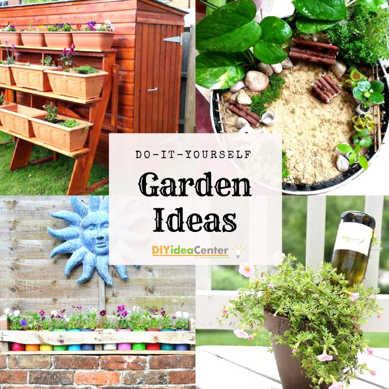Diy Garden Ideas 36 Garden Projects Diyideacenter Com