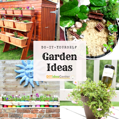 DIY Garden Ideas 36 Garden Projects