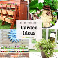 DIY Garden Ideas: 36 Garden Projects
