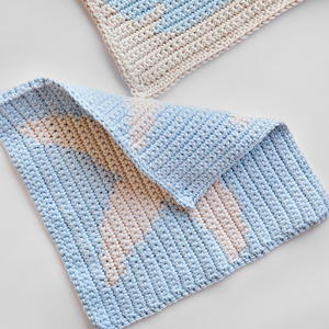 Nautical Crochet Washcloths
