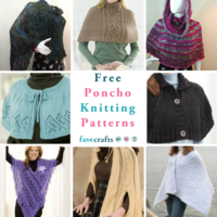 16 Free Poncho Knitting Patterns