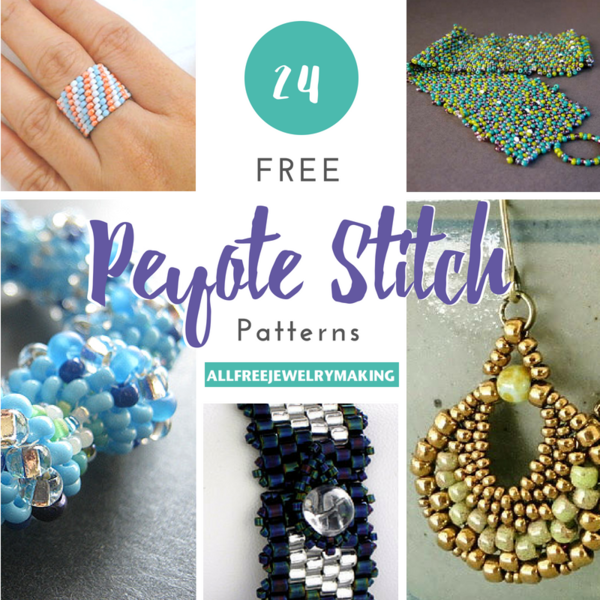 24 Free Peyote Stitch Patterns