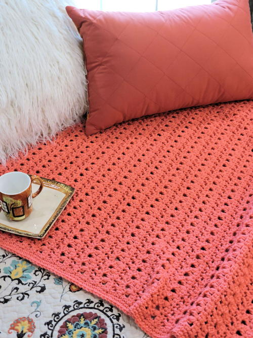 Peony Passion Throw