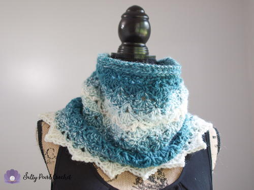 Mermaid Tears Cowl