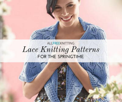 Lace Knitting Patterns for Spring