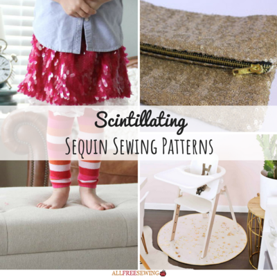 12 Scintillating Sequin Sewing Patterns