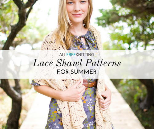 Lace Knitting Patterns for Shawls