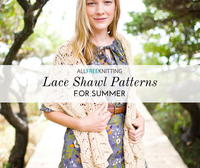 19 Knit Lace Shawl Patterns