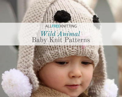 Wild Animal Baby Knit Patterns
