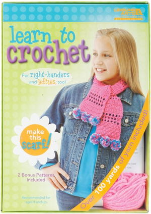 Learn to Crochet Scarf Kit