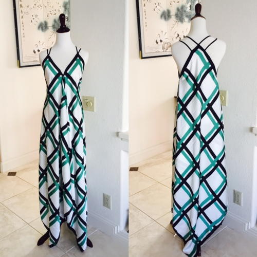 Scarves DIY Maxi Dress