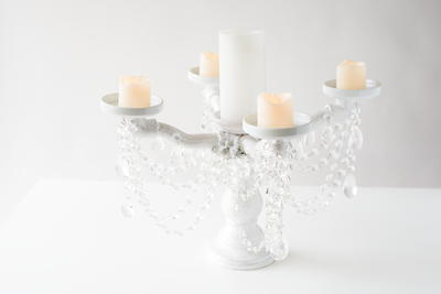 DIY Candelabra PVC Pipe Craft