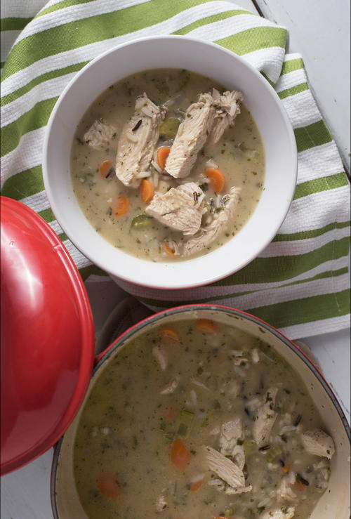 Panera Chicken and Rice Soup