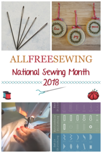National Sewing Month 2018