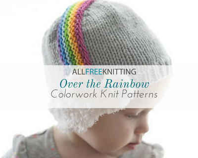 Over the Rainbow 40 Colorwork Knit Patterns