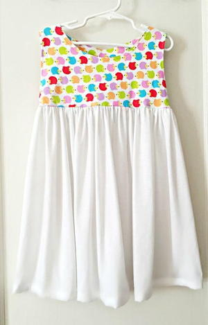 Sweet and Simple Girls Dress Pattern
