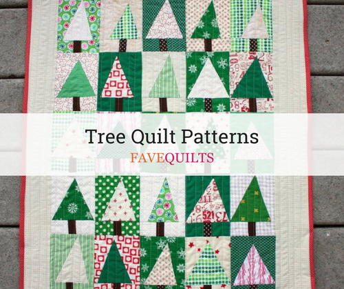 19 Tree Quilt Patterns Favequilts Com