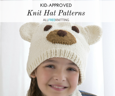 2c2ed3f25c98ae 26 Kid-Approved Knit Hat Patterns | AllFreeKnitting.com