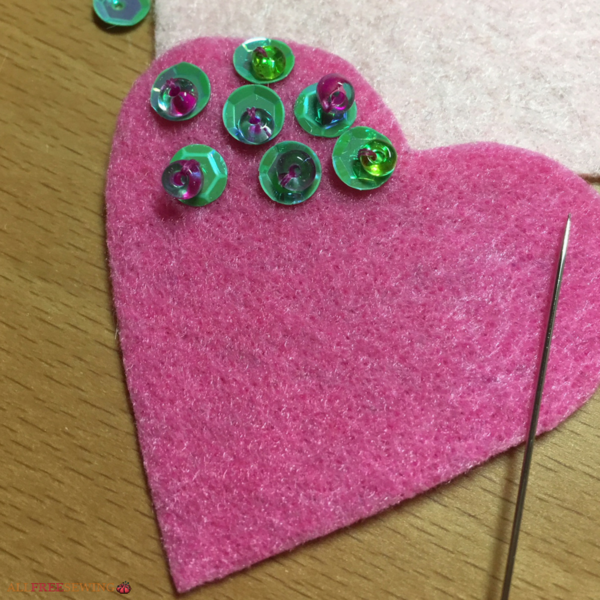 How to Sew Sequin Appliques and Patches