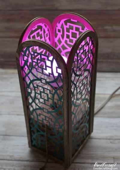 Luxurious Lantern DIY Paper Lampshade