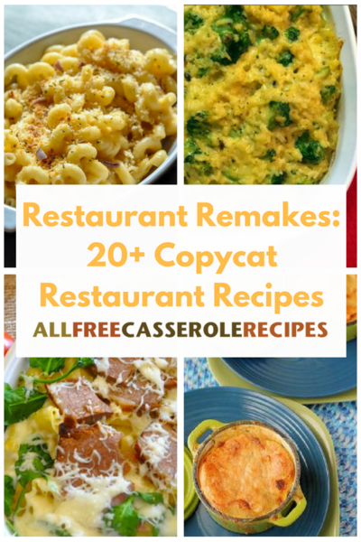 27 Copycat Restaurant Recipes