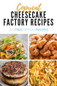 25 Best Copycat Cheesecake Factory Recipes