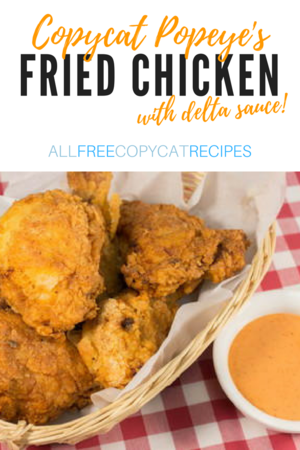 Copycat Popeye's Fried Chicken Recipe