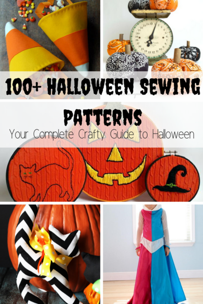 100 Halloween Sewing Patterns